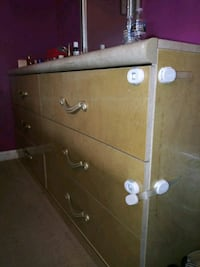 brown wooden 4-drawer chest Falls Church, 22046