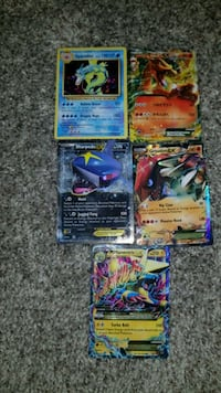 assorted Pokemon trading card collection Chilliwack, V2R 0B4