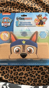 Cozy headphone headband PawPatrol (Chase) Washington, 20032