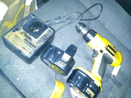 DeWalt Drill.  2 batteries and charger