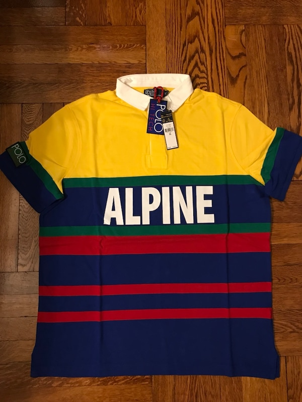 Ralph Lauren Polo Hi tech Alpine Rugby
