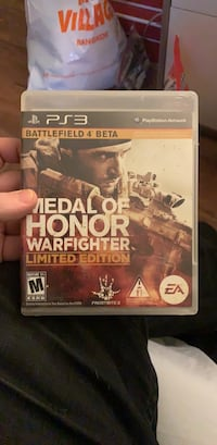 Medal of Honor: Warfighter Limited Edition (PS3-Good Condition) Washington, 20016
