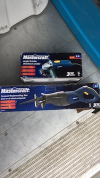 Mastercraft grinder and saw Central Okanagan, V4T
