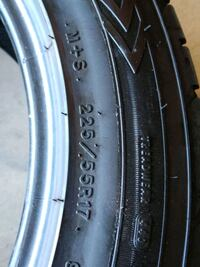 """Goodyear GT  17""""tires $150 for 2 tires obo Bakersfield"""