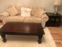 Pottery Barn coffee table and side table Clifton, 20124