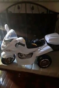 Battery operated motor cycle