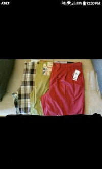3 brand new mens shorts for jcpenny. All with tags Elyria, 44035