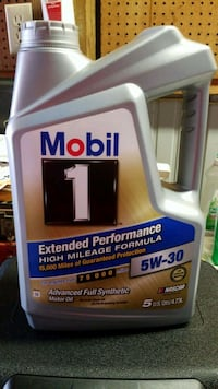 Mobil 1 synthetic oil  Howell, 48855