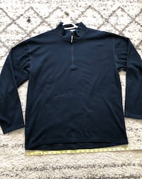 Vintage North Face 1/4 Zip Pullover. Size large.