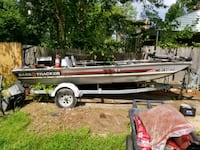 $1000.00 boat and trailer must go together.  I hav Adelphi, 20783