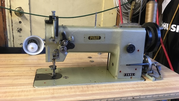 Used Nakajima 40L Industrial Walking Foot Sewing Machine For Sale Magnificent Pfaff Walking Foot Sewing Machine