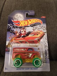 Monster Dairy Delivery HotWheels Car 1/5 Santa Charleston, 29414