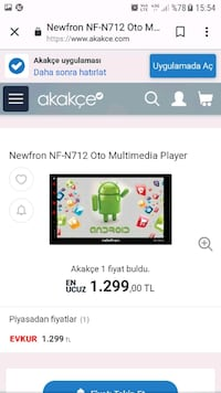 Double teyp multimedya android