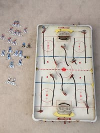Antique table top hockey game Abbotsford, V2T 6X9