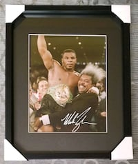 Mike Tyson Signed Boxing Photo Framed w/COA  Caledon, L7E 2X9