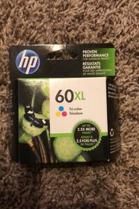 Hp 60 XL Printer Ink Fargo, 58103