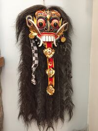 Mask from Indonesia  Surrey, V3R 3K3