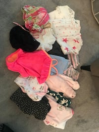 toddler's assorted clothes Vancouver, V6B 0C3