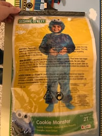 Cookie Monster Costume Size 2T Haverhill, 01835