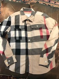 Boy's Burberry exploded check shirt Mississauga, L5L 3E4