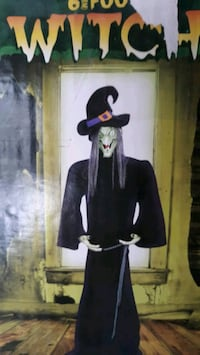 Halloween - 6 Ft Tall Witch figure York, 17403
