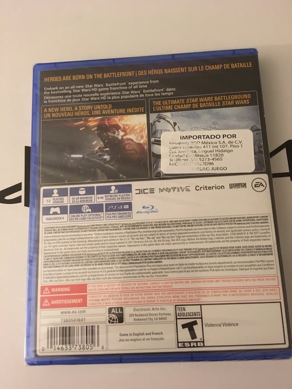Star Wars Battlefront 2 PS4 9164a25a-5ae0-4f0a-acf9-52007c53aba0
