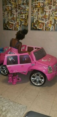 Barbie car . Battery not included. Toronto, M6M 2H4