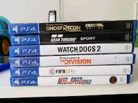 Games ps4 solo fifa17,the division, need for Spee  Torino, 10147