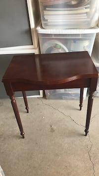 brown wooden side table Tacoma, 98445