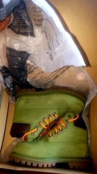 Forest Green Timberlands Charlotte
