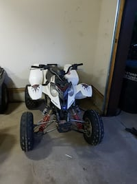 white Polaris ATV Stony Plain, T7Z