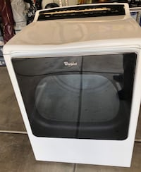 White and black whirlpool front load dryer Las Vegas, 89166