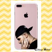 Drake one dance iPhone 7plus clear silicone case Bakersfield, 93311