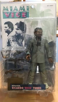 Ricardo Tubbs action figure Miami Vice BNIP