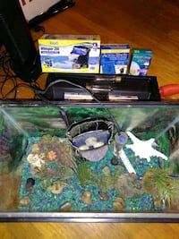 COMPLETE 10 Gallon Freshwater Aquarium Set W/ All  Hagerstown, 21740
