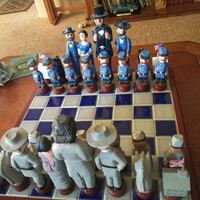 North & South chess board set Santa Rosa, 95403