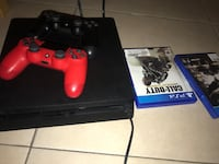 Sony PS4 console with controller and game case Houston, 77075