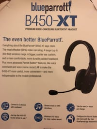Blueparrot Bluetooth with box  Calgary, T3N 0H4