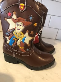 Sizes 6&7 Kids Cowboy/girl Boots Woodbridge Township