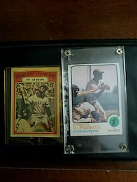 Rare-ish Roberto Clemente collectible cards