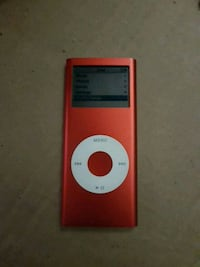 Red 4gb ipod