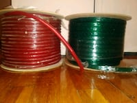 Two spools of neon eletrical flexible rope. Old Bridge Township, 08857