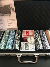 Poker aluminium case all set  Oslo, 0368