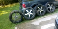 24 inch wheels and tires Clarksville