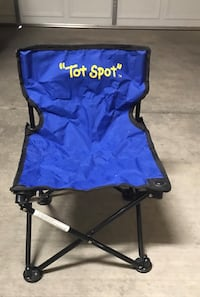 blue and black camping chair Tucson, 85757
