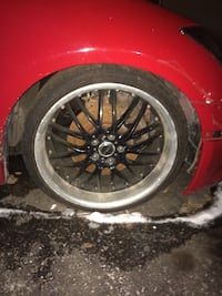 "18"" Msr rims with Michelin sports tires (summers) Newmarket, L3Y 2B6"