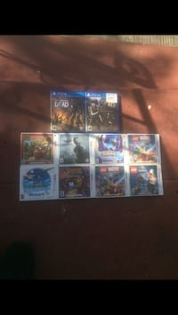 3ds and ps4 games 2244 mi