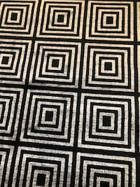 Brand-new Area Rug 8x10 - KEYS BLACK ASHBURN