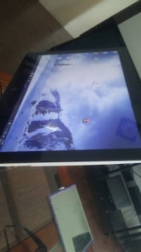 Touch screen desktop