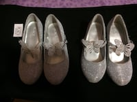 women's two pairs of white flats Washington, 20024